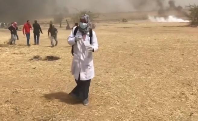 İsrail 44 sağlık çalışanını yaraladı