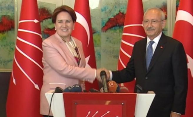 Kılıçdaroğlu ve Akşener'den görüşme sonrası açıklama