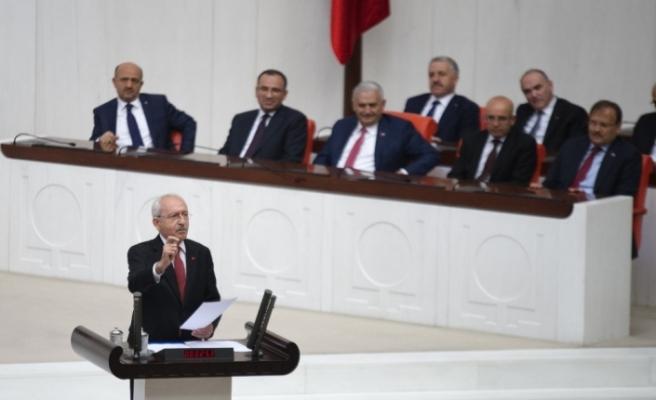 Kılıçdaroğlu'nun sözleri Genel Kurul'u gerdi