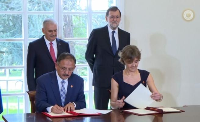 Türkiye ve İspanya arasında 2 anlaşma imzalandı