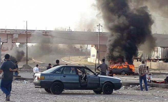 Türkmen Cephesi adayına bombalı saldırı