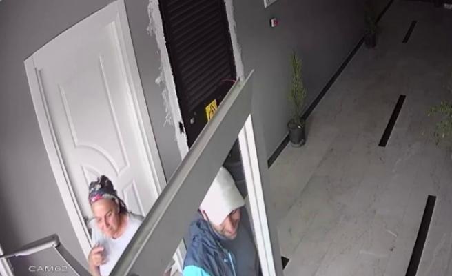Yemek ikram edilen hırsız ayakkabıyla bisiklet çaldı