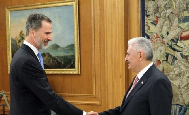 Yıldırım İspanya Kralı VI. Felipe tarafından kabul edildi