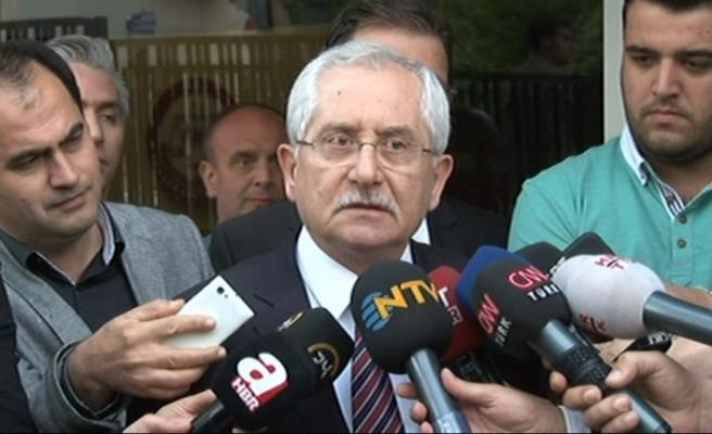 YSK Başkanı Güven'den seçim takvimi açıklaması