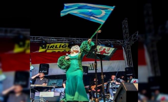 Ersoy ve Tuncer'den Türkmenlere destek konseri