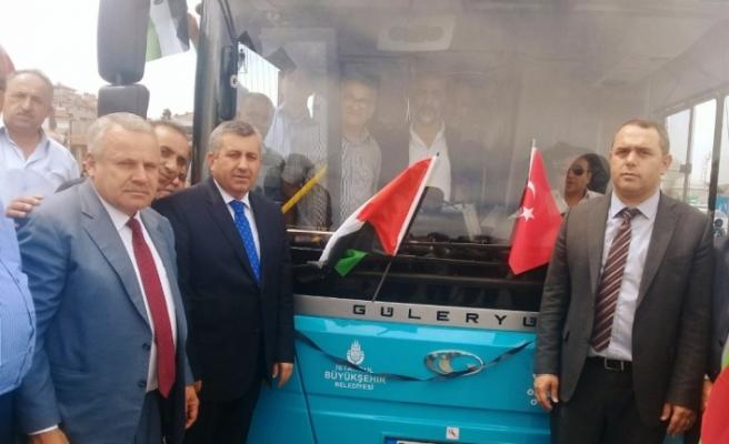 İsrail'in Filistinlilere uyguladığı zulmü protesto ettiler