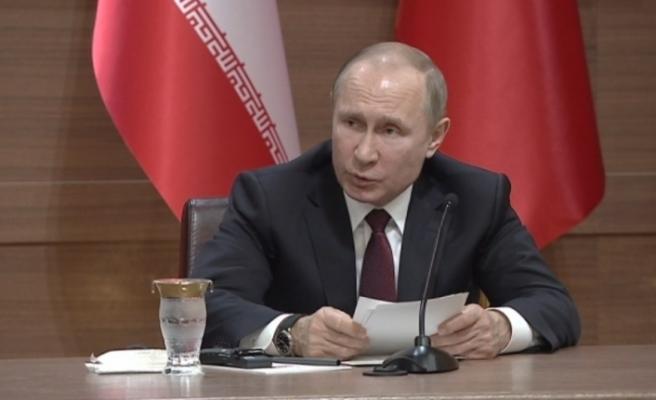 Putin ve Esad bir araya geldi