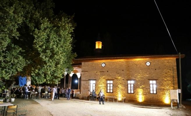 3 bin yıllık antik kentteki camide yeniden ezan sesleri yükseldi