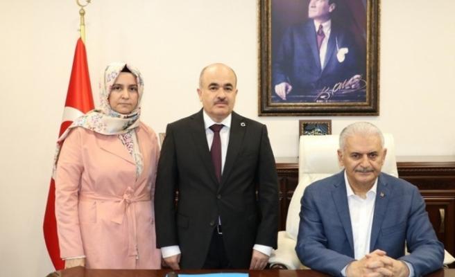 Başbakan'dan Vali Dağlı'ya ziyaret