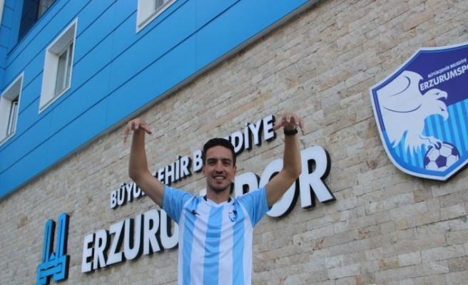 BB Erzurumspor'un ilk transferi