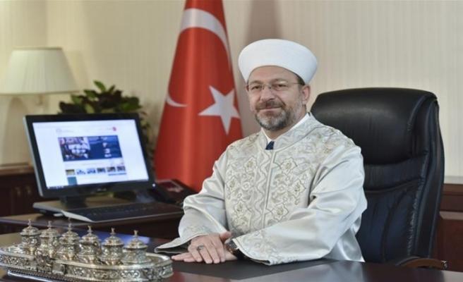 Diyanet İşleri Başkanı Erbaş'tan Ramazan Bayramı mesajı