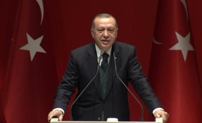 Erdoğan'dan Kara Kuvvetleri'nin kuruluş yıl dönümü mesajı