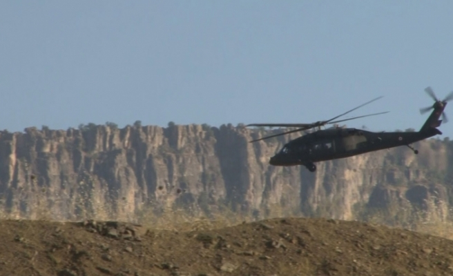 Irak sınırında askeri hareketlilik
