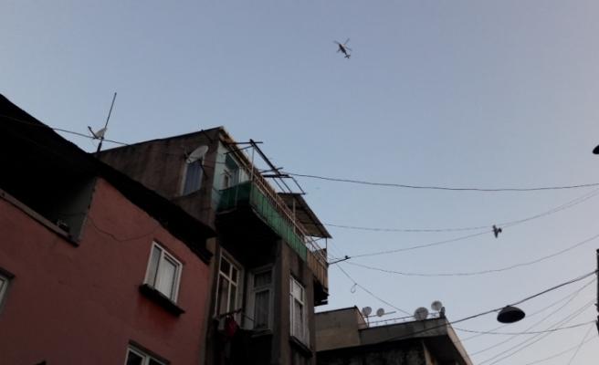 İstanbul'da 45 adrese hava destekli operasyon