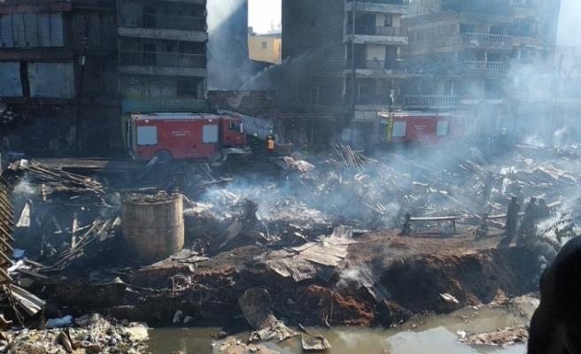 Kenya'da pazar yerinde yangın: 15 ölü