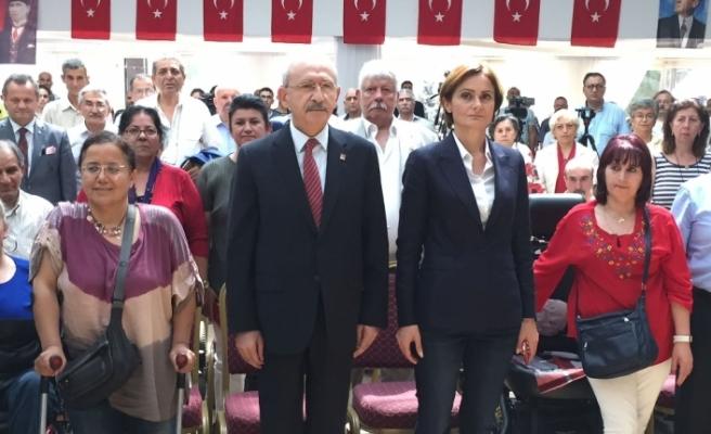 Kılıçdaroğlu'ndan engellilere 'birleşin' çağrısı