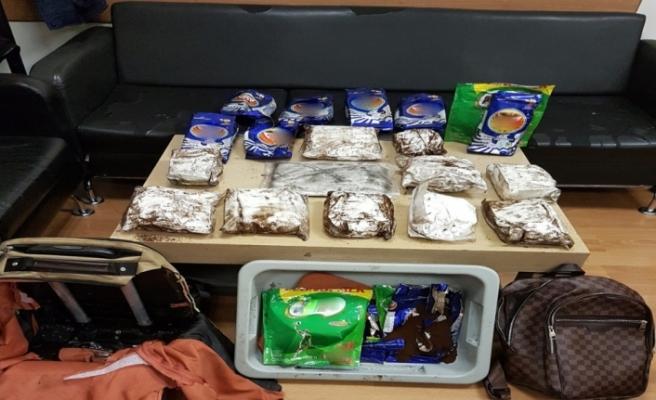 Kolombiyalı kokain kuryesi Atatürk Havalimanı'nda yakalandı