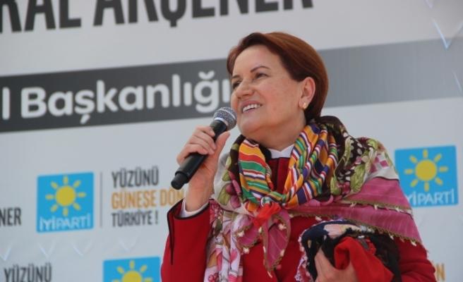 Meral Akşener Eskişehir'de konuştu
