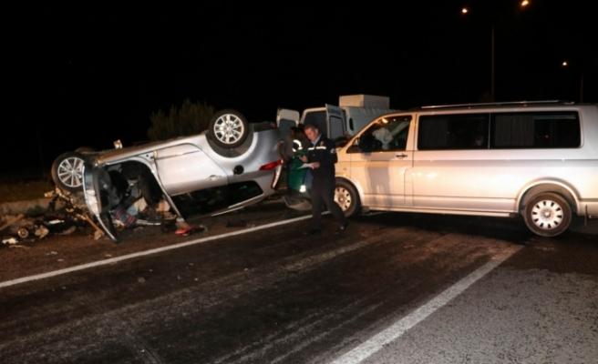 Nevşehir'de feci kaza: 1 ölü, 9 yaralı