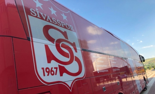 Sivasspor takım otobüsü yeniden tasarlandı