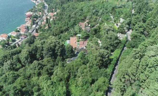 Adnan Oktar'ın lüks villası havadan görüntülendi