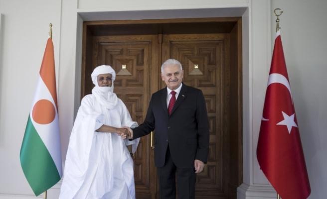 Başbakan Yıldırım, Nijer Başbakanı ile görüştü