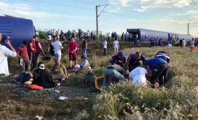 Başbakanlık'tan tren kazasına ilişkin açıklama