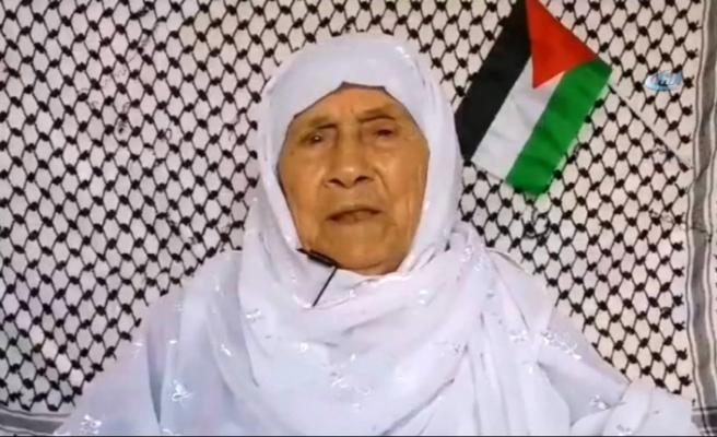 Filistinli nineden Erdoğan'a 'Kudüs' çağrısı