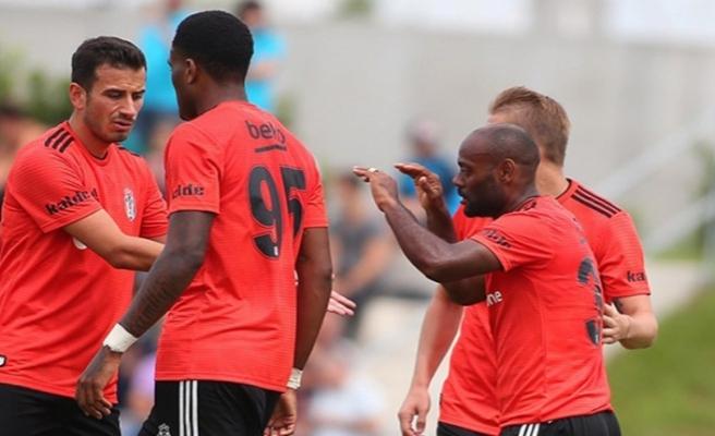 Hazırlık maçında Beşiktaş farka gitti
