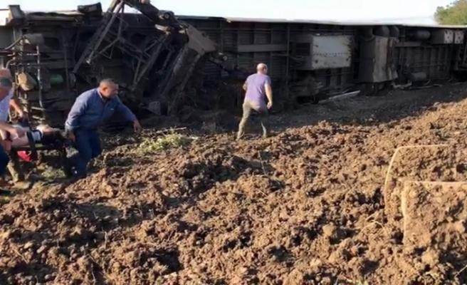 İBB kurtarma araçlarını kaza bölgesine gönderdi