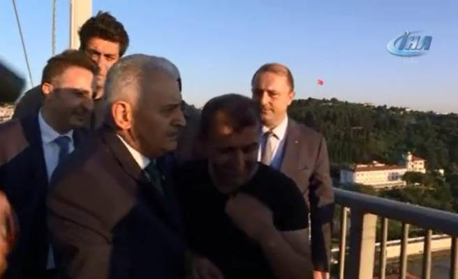İntihar teşebbüsünü Başbakan Yıldırım önledi