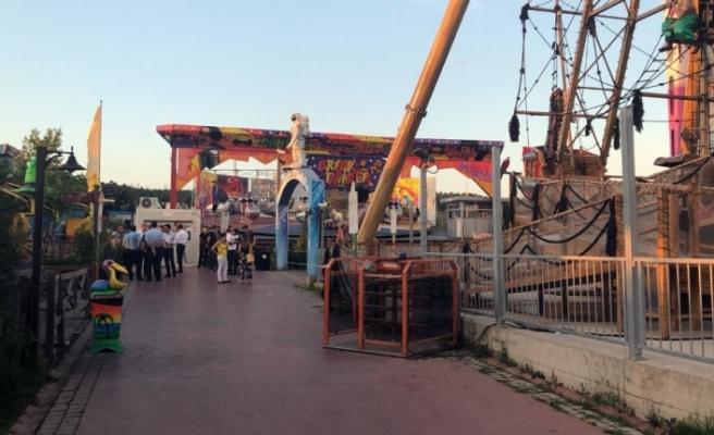 İstanbul'da lunapark faciası: 1 ölü