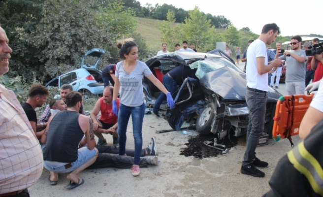 Kocaeli'nde zincirleme kaza: 1 ölü, 15 yaralı