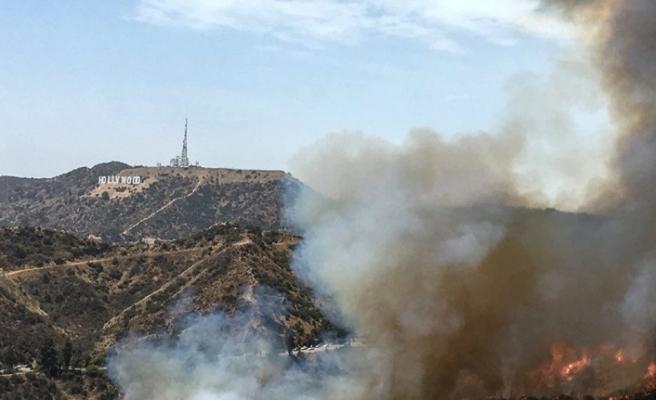 Los Angeles'ta korkutan yangın