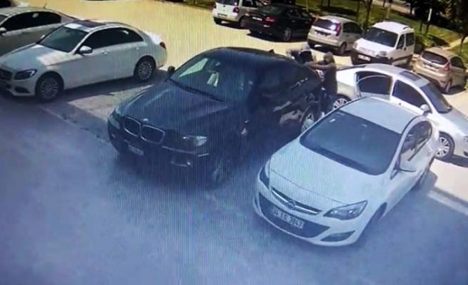 Lüks cipin camını kırıp 100 bin lirayı çaldılar