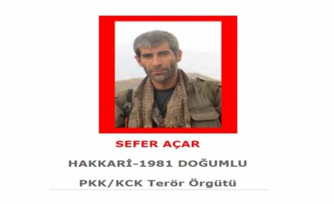 O terörist öldürüldü: Kırmızılı listedeydi !