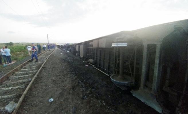 Tren kazasına yayın yasağı