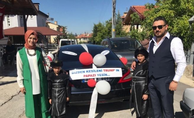 ABD'ye Türk usulü sünnetli gönderme
