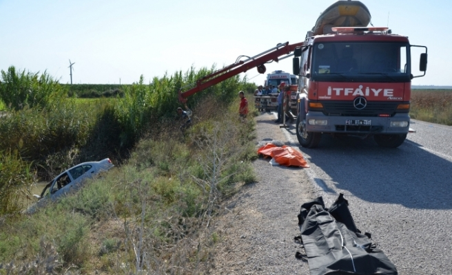 Adana'da tatil dönüşü feci kaza: 2 ölü, 2 yaralı
