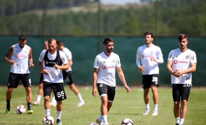 Beşiktaş Akhisarspor maçı hazırlıklarına başladı