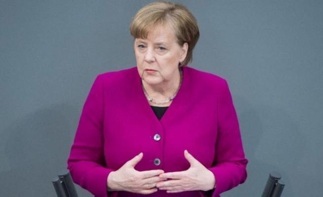 Bir 'Türkiye' açıklaması da Merkel'den