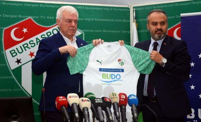 Bursaspor'a 3 milyon TL'lik forma göğüs sponsoru