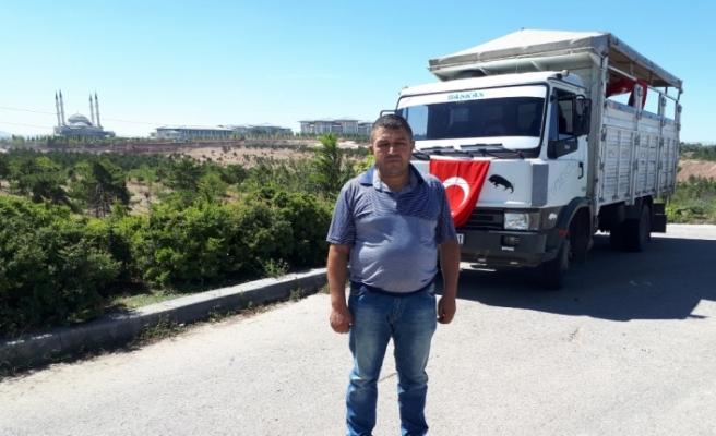 Kocaman yürekli adam Ankara'da