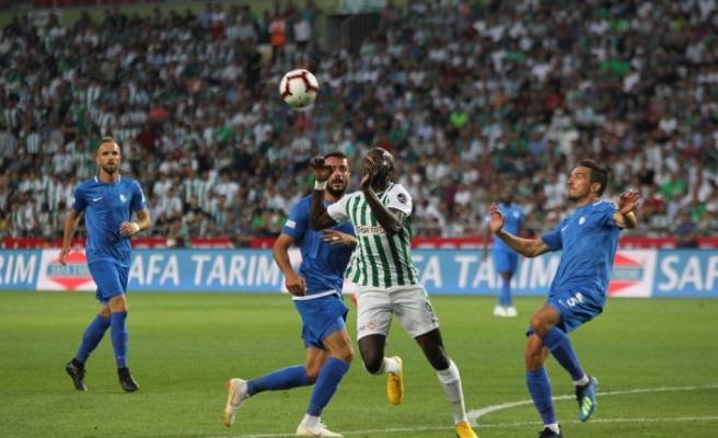 Konya'da ilk yarıda 3 gol