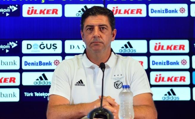 """Rui Vitoria: """"Kazanmak için sahaya çıkacağız"""""""