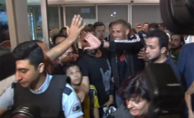 Slimani İstanbul'a geldi