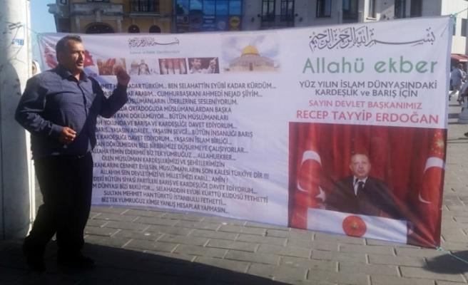 Taksim Meydanı'nda 'kur' eylemine gözaltı