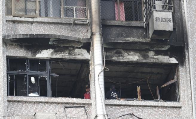 Tayvan'da bakım evinde yangın: 9 ölü, 16 yaralı