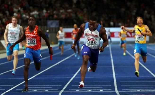 Türkiye, 4X100 finalinde rekor kırdı