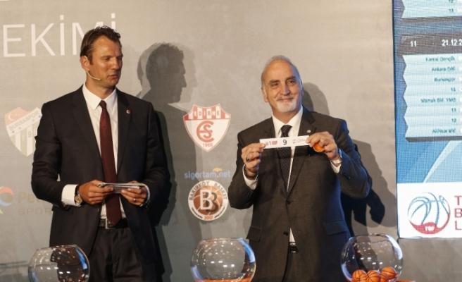 Türkiye Basketbol Ligi'nde fikstür belli oldu